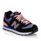 New Balance 574 Tiki Siyah Kadın Günlük Ayakkabı