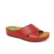 Muya 26196 Kırmızı Masaj Jel Tabanlı Bayan Terlik