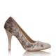 EsMODA Cc-010 Vizon Kadife Kadın Topuklu Ayakkabı