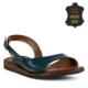 Marjin Gevo Düz Deri Sandalet Yeşil