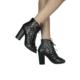 Loggalin 580921 031 014 Kadın Siyah Abiye Ayakkabı
