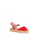 U.S. Polo Assn. Kadın Y6Ella Sandalet Kırmızı