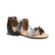 Art Bella Rb005 Siyah Gümüş Kadın Sandalet