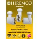 Hiremco 3D-Full HD Dort Cıkıslı Universal LNB