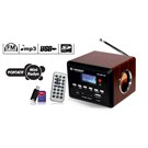 Kamosonic KS-MR108 Mini USB/SD-MP3-USB ŞARJ-RADYO Çalar