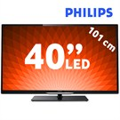 "Philips 40PFL4508K 40"" 200Hz WiFi Uydu Alıcılı UsbMovie SMART 3D FULL HD LED TV"