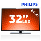 "Philips 32PFL3258K 32"" 100Hz Uydu Alıcılı UsbMovie SMART FULL HD LED TV"