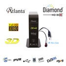 Atlanta Diamond HD Box Mini Full HD PVR Uydu Alıcısı (Full HD)