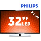 "Philips 32PFL3158H 32"" UsbMovie FULL HD LED TV"