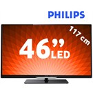 "Philips 46PFL4308K 46"" (117cm) UYDU ALICILI UsbMovie 3D FULL HD LED TV + 2 Adet 3D Gözlük"