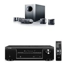 Denon AVR-X500 5.1 Kanal HD Audio Receiver + Canton MOVIE 80CX Aktif Subwooferlı 5+1 Ev Sinema Hoparlör Sistemi