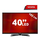 "Vestel 40PF3025M 40"" UsbMovie FULL HD LED (Dahili Askı Aparatı)"