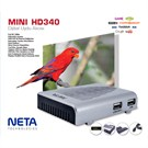 Neta Mini HD340 (IPTV+USB+PVR) Full HD Uydu Alıcısı