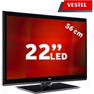 "Vestel 22PF5065S 22"" FULL HD UYDU ALICILI UsbMovie LED TV ( Dahili Askı Aparatı )"