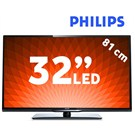 "Philips 32PFL4258K 32"" 200Hz Uydu Alıcılı UsbMovie SMART FULL HD LED TV"