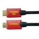 TECHDATA 15BTD 3D 1,4 V HIGH SPEED HDMI KABLO