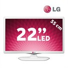 "LG 22MT45D 22"" UsbMovie Full HD LED TV (Beyaz Tasarım)"
