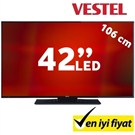 "Vestel 42FA5000 42"" 200Hz (Uydu Alıcılı) UsbMovie Full HD LED TV"