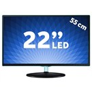 "Samsung LT22D390EW 22"" UsbMovie Full HD LED TV"