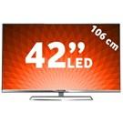 "Philips 42PFK6309 42"" 106 Ekran Full HD 200Hz 3D Smart Led Ambilight TV"