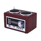 Goldmaster SR-122 Portatif Retro Radyo ve Ses Sistemi