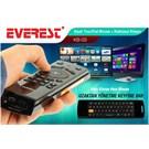 Everest KB-03 Siyah Touchpad Mouse Q Multimedia + Kablosuz Klavye