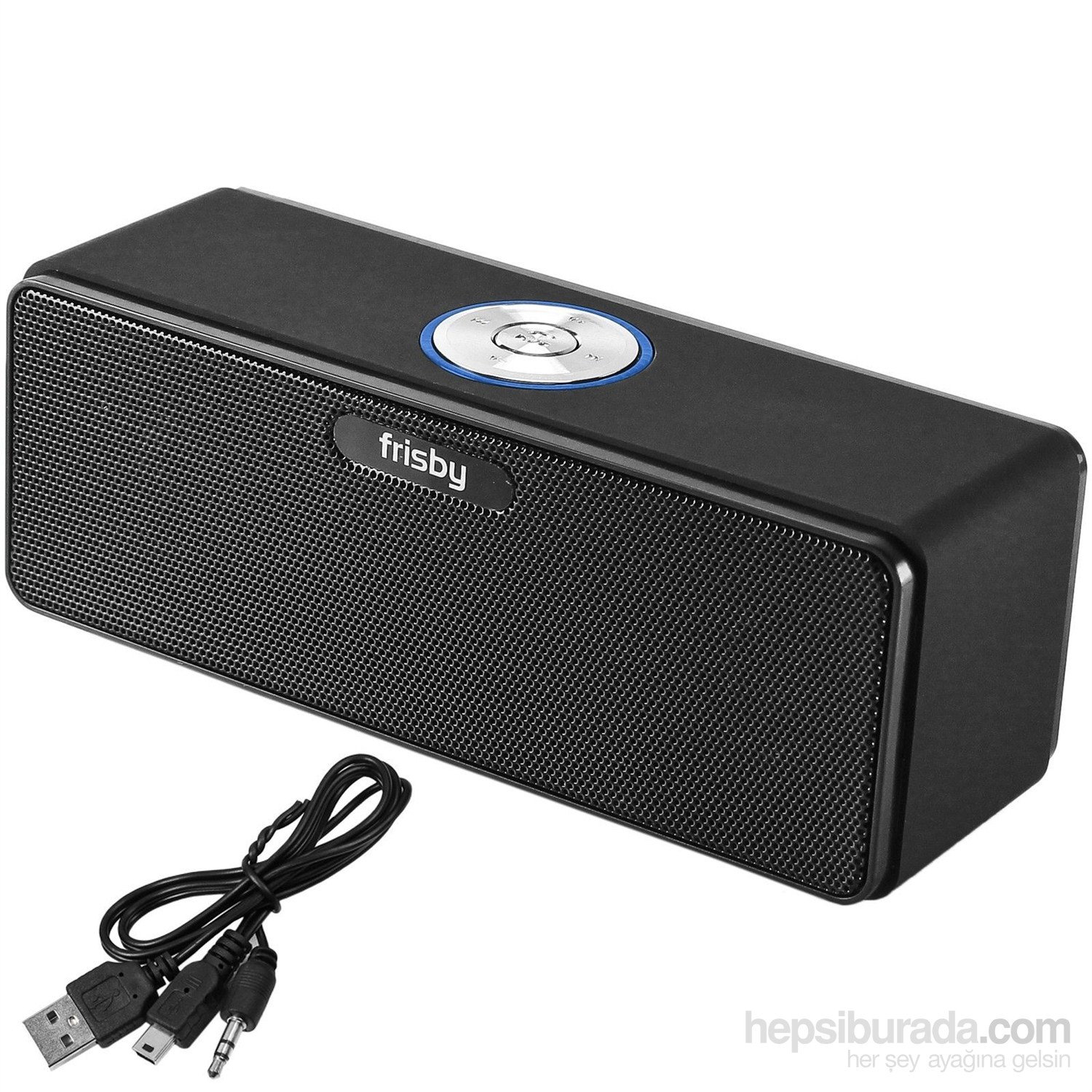 FRISBY FS-P150B Usb TF/SD Taşınabilir Bluetooth Siyah Mini Fm Speaker