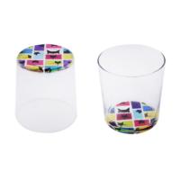 Tink Karakedi Rengarenk 2 li Su Bardağı