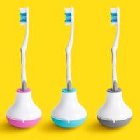 Quirky Booble Brush Timer Hacıyatmaz Diş Fırçası Zamanlayıcısı Siyah