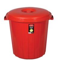 Arslan Plastik Çöp Kovası Kapaklı Plastik 90 Lt