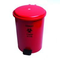 Hp Tıbbi Atık Çöp Kovası 40 Lt