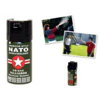 Toptancı Kapında Biber ( Nato ) Gazı
