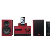 Pioneer X-Cm42Bt Bluetooth Mikro Müzik Seti Kırmızı