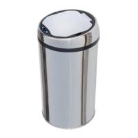 Hiper Sensörlü Çöp Kovası 12 Lt. Krom