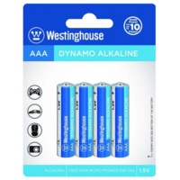 Westinghouse Alkalin İnce Pil 4Lü Blister Ambalaj