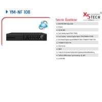 X5 Tech Ym-Nf108 8 Kanal Full Hd Nvr 1080P Kayıt