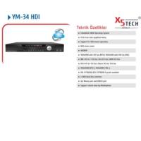 X5 Tech Ym-34Hdı 4 Kanal Hd Cvı Kayıt Cihazı