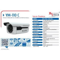 X5 Tech Ym-110C 800Tvl 8Mm 4Big Array Led (F1.2)