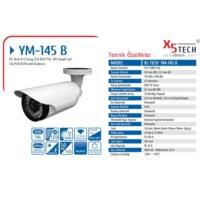 X5 Tech Ym-145B 1-3 6Mm Sony 650 Tvl 145 Led Kamer