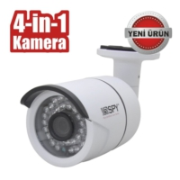Spy Sp-4141Y 1Mp 4İn1 Ahd- Hdtvı-Hdcvı-Analog 3,6M