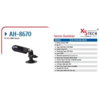 X5 Tech Ah-8670 Araç İçi Kamera Mikrofonlu
