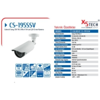 Colorsit Cs-195Ssv 1-3 Sony Effio-V663 720Tvl 960H