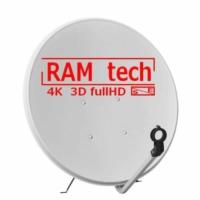 Ramtech 105 Cm Çanak Anten ve Montaj Ayağı