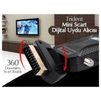 Vip Trident Scart Mini Bissli Uydu Alıcı