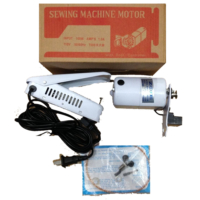 İşkur Makine 150W Beyaz Renk Ev Tipi Aile Makinası Dikiş Makina Motoru