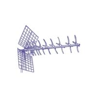 Digiçağ 43 Eleman UHF Çatı Anteni GES-43