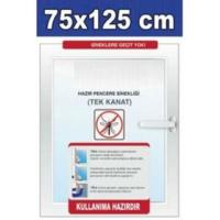 Tika Pencere Sineklik 5 Adet Tek Kanat 75 X 125 ( 4M Bant Dahil)