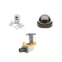 Cix Hareket Sensörlü Sahte Kamera Ve Kablosuz Hırsız Alarmı Seti Model1
