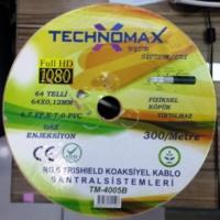 Technomax Rg6 Uydu Anten Kablosu 300 Metre