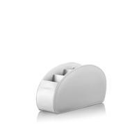 Sonorous 5 Gözlü Deri Kumandalık Standı Beyaz